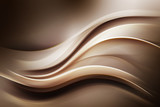 Gold Brown Modern Abstract Waves Background