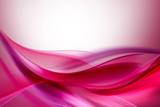Pink Purple Abstract Waves Background - 85681334