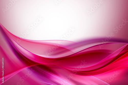 Różowy Fioletowy Streszczenie Fale Tle