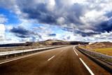 Concepto de aventuras viajes por carretera.Autopista,itinerario y turismo - Fine Art prints