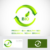 Bio eco badge