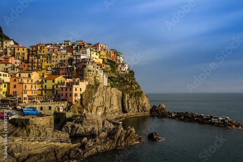 Aluminium Village of Manarola, Cinque Terre, Italy