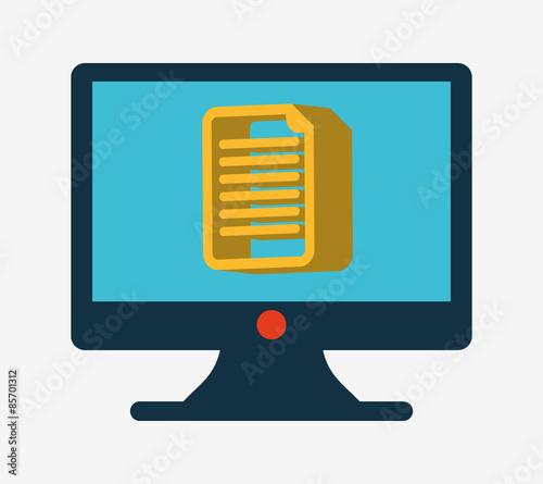 Computer File Icon Computer Icon