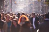 people crowd walking on street - Fine Art prints