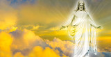 Jesus Christ in Heaven panoramic image - 85705900