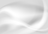 Fototapety Grey pearl abstract vector waves design