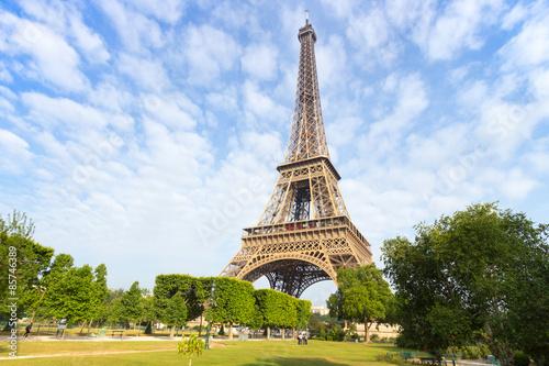 Eiffel tower in Paris Photo by VanderWolf Images