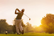 Golfers hit sweeping golf