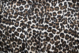 Beautiful leopard animal print fur background / wallpaper