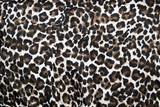 Beautiful leopard animal print fur background / wallpaper