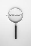 Tolerance word poster