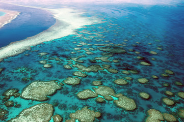 Aerial View Great Barrier Reef Australia-4