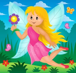 Happy fairy theme image 2