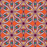 Fototapeta Ethnic floral seamless pattern