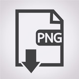 File type PNG icon poster