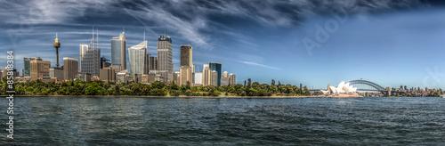 Poster Panorama von Sydney Cove