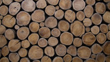 background of wood logs