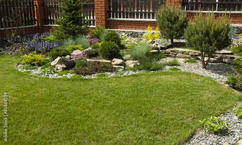 Fotobehang Tuin Garden design