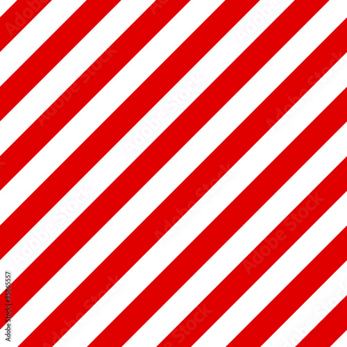 Abstract Seamless diagonal striped pattern with red and white st © lumikk555
