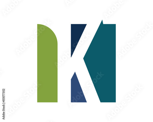 Mlg Logo Square k Square Letter Logo