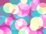 Fototapeta Abstract retro colors circles background