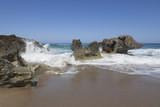 Naklejka Blue sky and sea