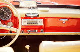 interno auto vintage
