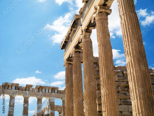 Staande foto Athene Acropolis in Athens