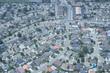 Постер, плакат: Aerial photographs of Los Angeles suburbs
