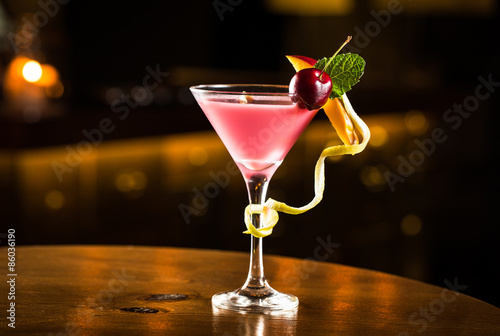 Juliste Pink cocktail