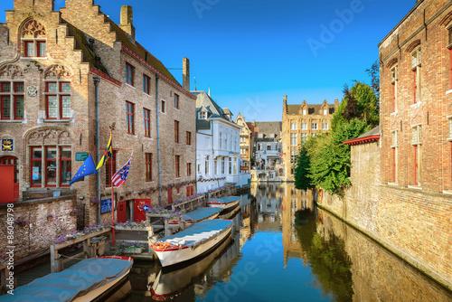 Aluminium Brugge Bruges Canal