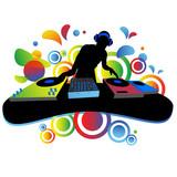 Fototapety dj, musica