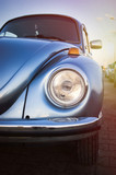 Headlight of a volkswagen beetle