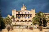 Fototapeta the Royal residence - Almudaina Palace