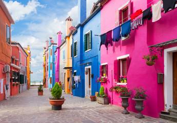 Burano island, Venice, Italy © neirfy