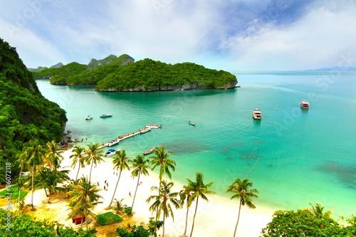mata magnetyczna Rajska Plaża. Koh Samui, Tajlandia