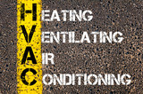Fototapety Business Acronym HVAC as Heating Ventilating Air Conditioning