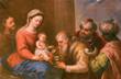 Obrazy na płótnie, fototapety, zdjęcia, fotoobrazy drukowane : Granada - Adoration of Magi painting in Monasterio de la Cartuja