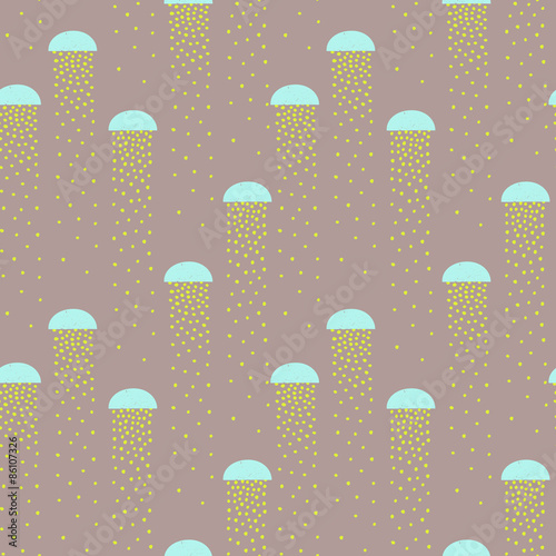Tapeta vector pattern of colorful abstract shapes