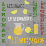 Lemonade retro poster