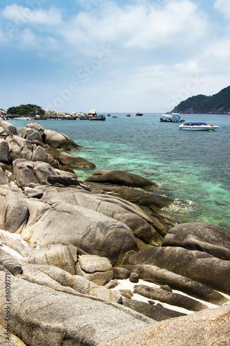 boats in lagoon © metrue