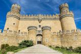 Fototapeta Castillo de Manzanares el Real, Madrid, España
