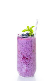 Fototapeta Blueberrie smoothie