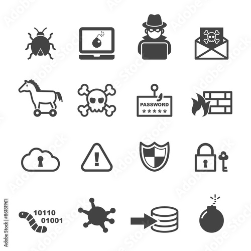 ikony cyberprzestępczości
