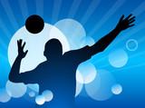 Fototapeta Volleyball - 86