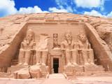 Fototapeta The Great Temple at Abu Simbel, Egypt