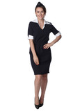 Stewardess in new uniform