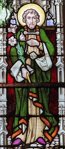 Naklejka Stained Glass - Saint Joseph