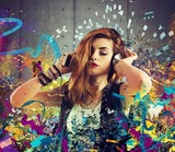 Fototapety Music passion