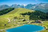Fototapety Erholungsgebiet Komperdell bei Serfaus, Tirol